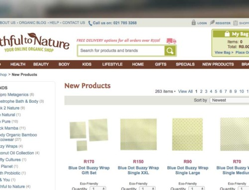 Your Online Organic Shop – Faithful to Nature, Now stocks Buzzy Wraps
