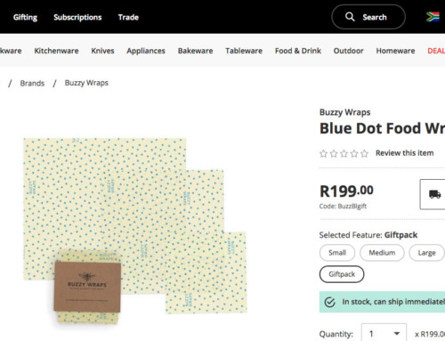 South Africa's premier kitchen and homeware store – Yuppie Chef, Now stocks Buzzy Wraps